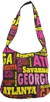 Atlanta All Over Hobo Bag