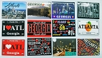 Atlanta Magnets (12pc)