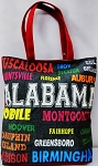 Alabama All Over Tote Bag