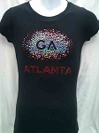 Atlanta Fitted Ladies Tees
