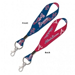 Atlanta Braves Lanyard Key Straps