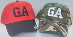 Georgia Baseball Caps