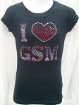 GSM Fitted Ladies Tees