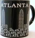 Atlanta ATL Mugs (6pc)