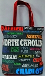 N. Carolina  All Over Tote Bag
