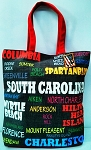 S. Carolina  All Over Tote Bag