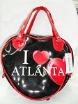 Atlanta Heart Shaped bag