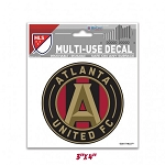Atlanta United 3 x 4 Decal