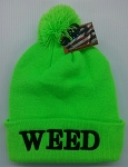 Weed Winter Cap