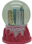Atlanta Mini Waterglobe (2pc)