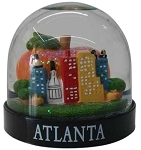 Atlanta Oval Waterglobe  (2pc)