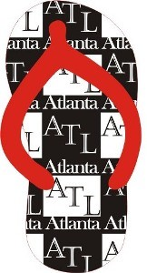 Atlanta Slipper Magnets (12pc)