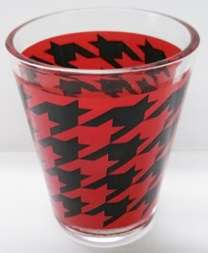 Houndstooth Shotglasses (12pc)