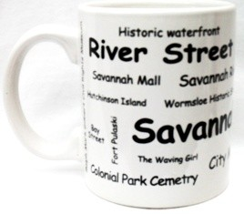 Savannah Ceremic Mugs (6pc)