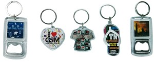 Tennessee / GSM Keychains (12pc)
