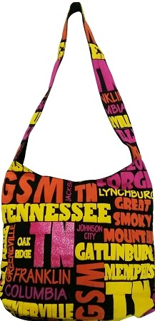 Tennessee All Over Hobo Bag