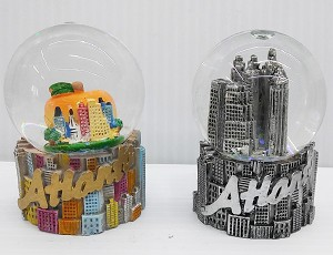 Atlanta Medium Waterglobe  (2pc)