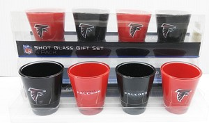 Atlanta Falcons Shots (4pc Pack)